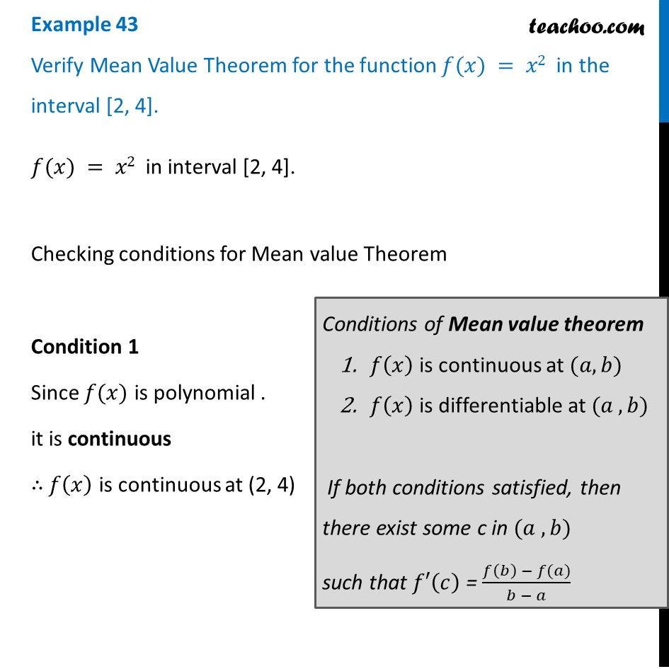 Example 43 - Examples
