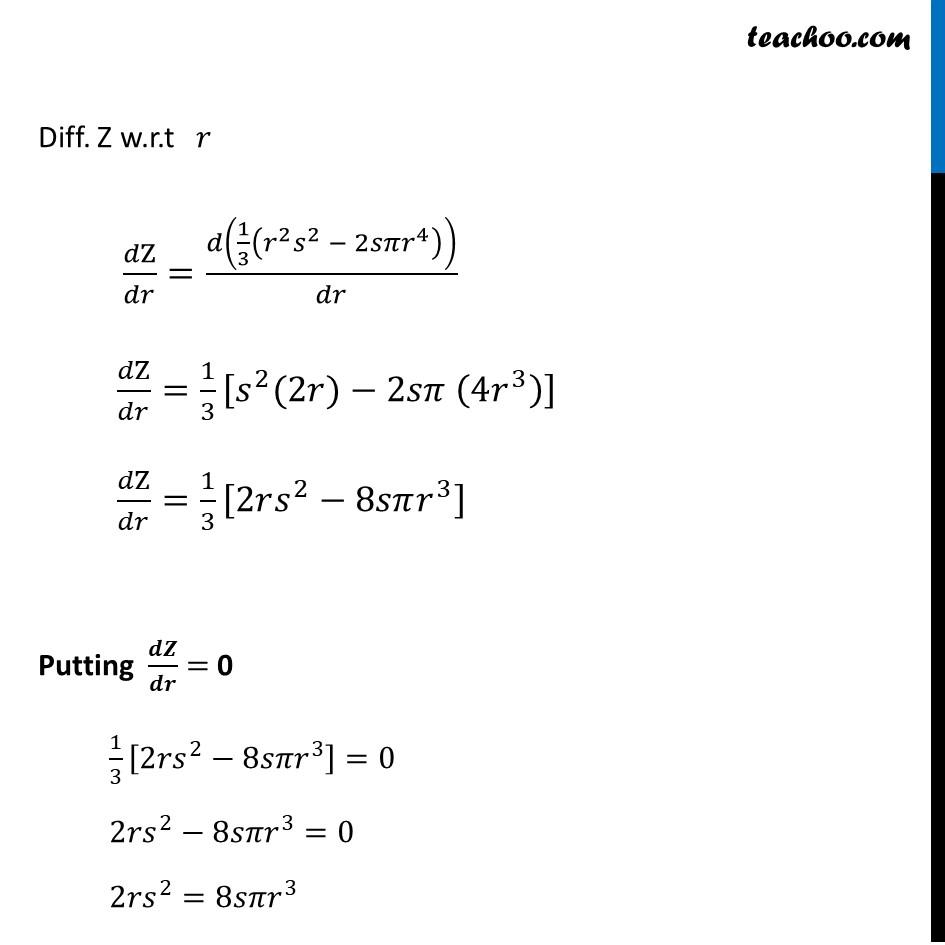 Ex 6.5,26 - Chapter 6 Class 12 Application of Derivatives - Part 6