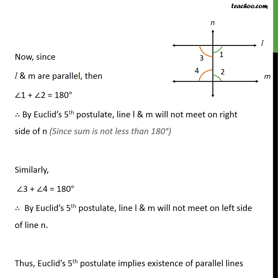 does Euclid's fifth postulate imply the existence of parallel lines explain 2.JPG