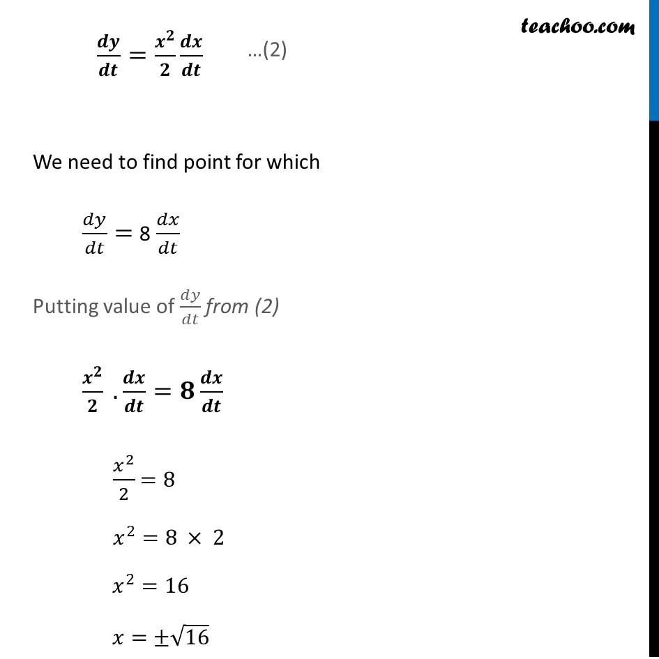 Ex 6.1,11 - Chapter 6 Class 12 Application of Derivatives - Part 3