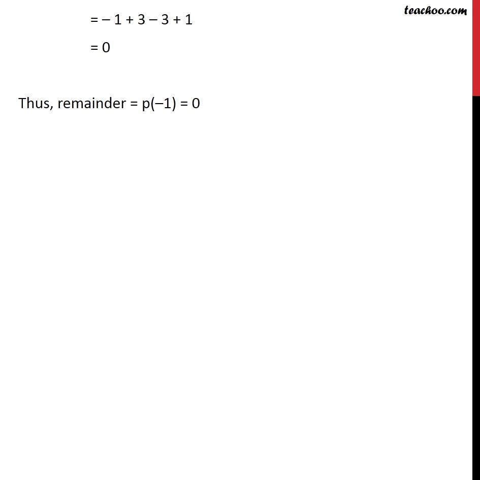 Ex 2.3,1 - Chapter 2 Class 9 Polynomials - Part 2