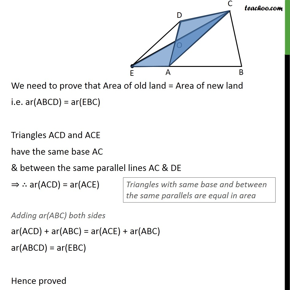 Ex 9.3, 12 - Chapter 9 Class 9 Areas of Parallelograms and Triangles - Part 2