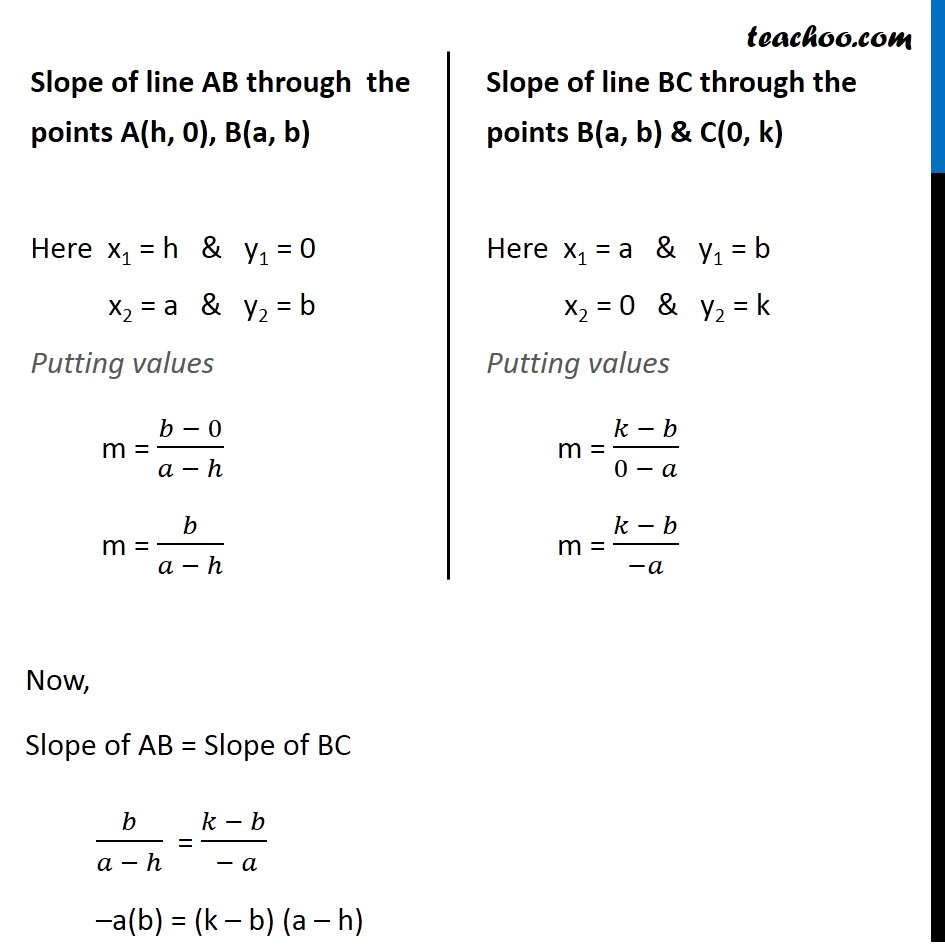 Ex 10.1, 13 - Chapter 10 Class 11 Straight Lines - Part 2