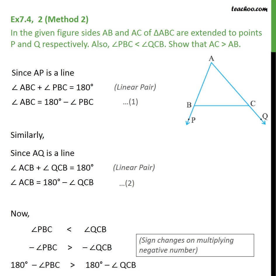 Ex 7.4, 2 - Chapter 7 Class 9 Triangles - Part 3