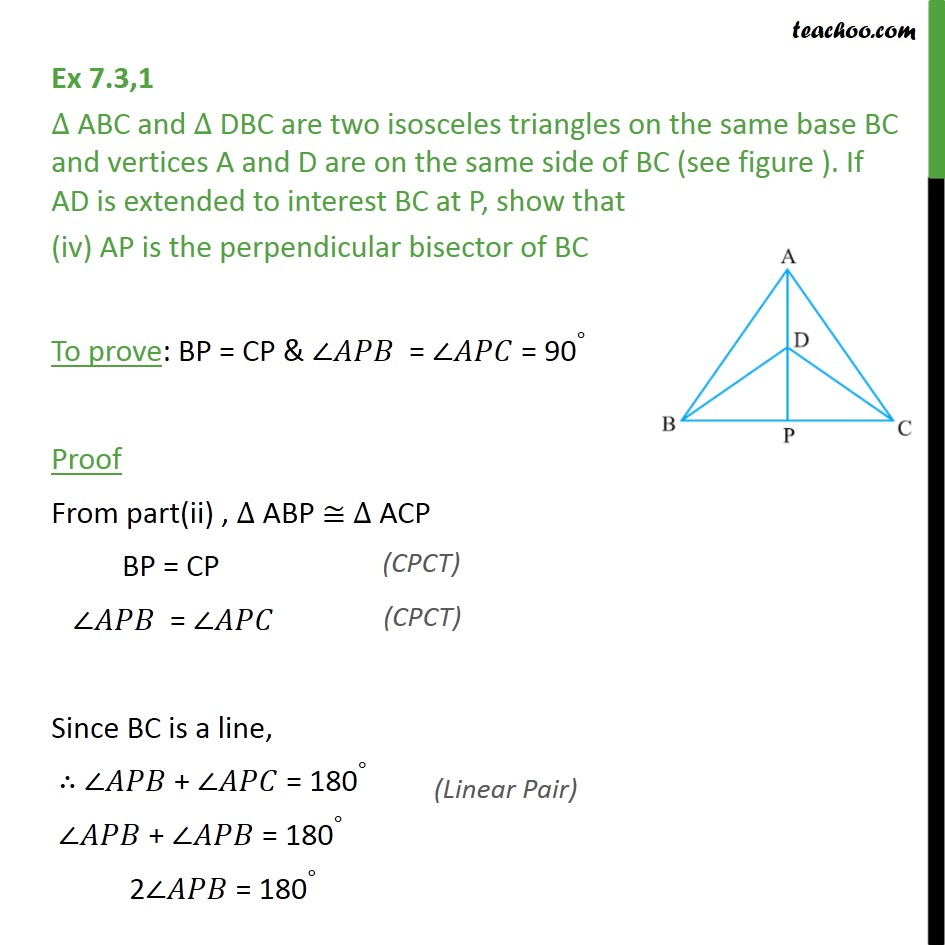 Ex 7.3, 1 - Chapter 7 Class 9 Triangles - Part 6