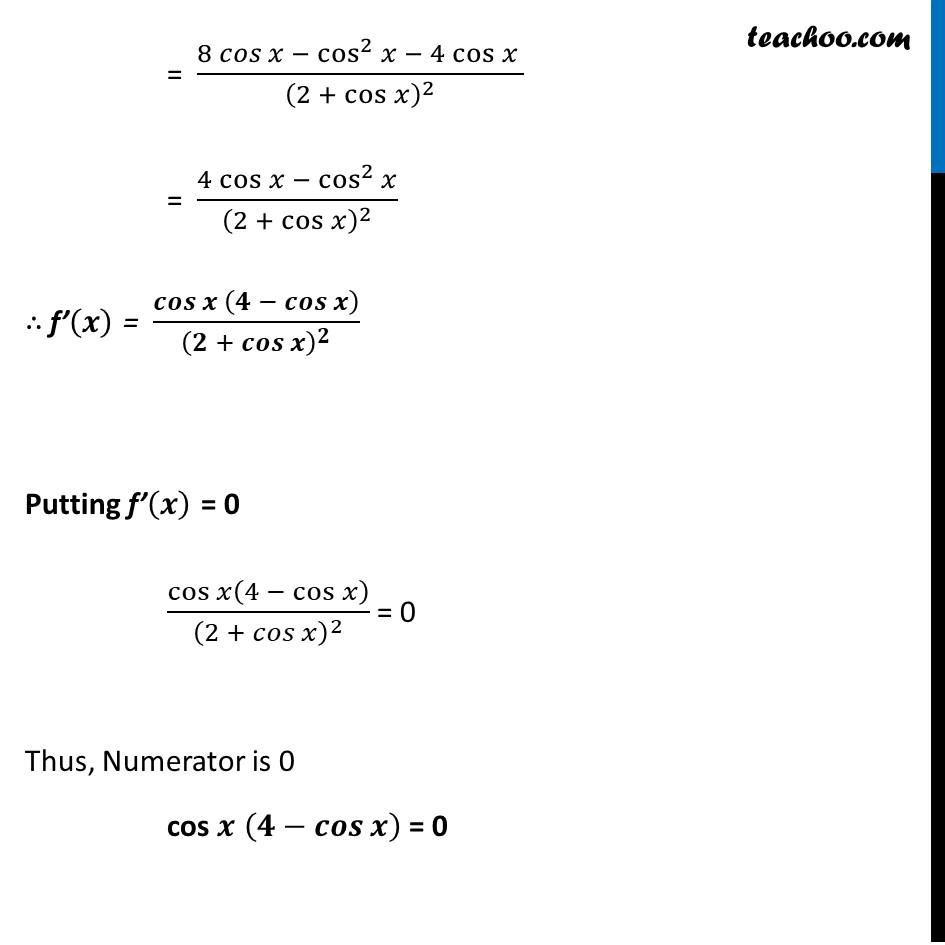 Misc 6 - Chapter 6 Class 12 Application of Derivatives - Part 4