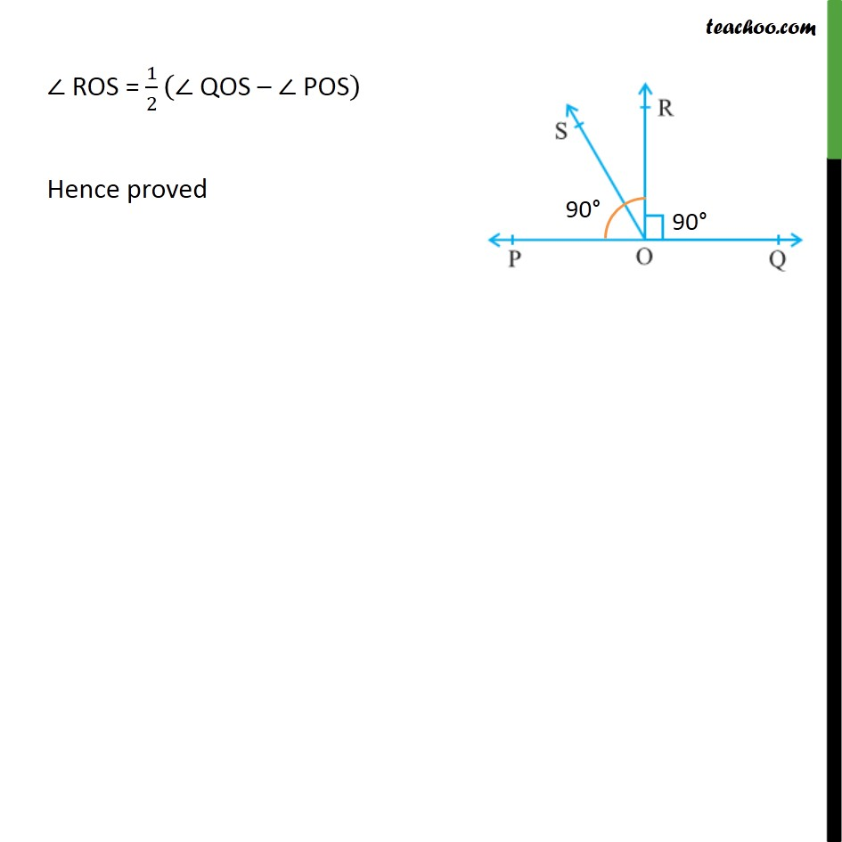 Ex 6.1, 5 - Chapter 6 Class 9 Lines and Angles - Part 2