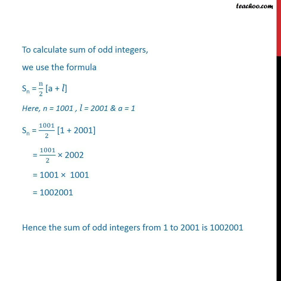 Ex 9.2, 1 - Chapter 9 Class 11 Sequences and Series - Part 3
