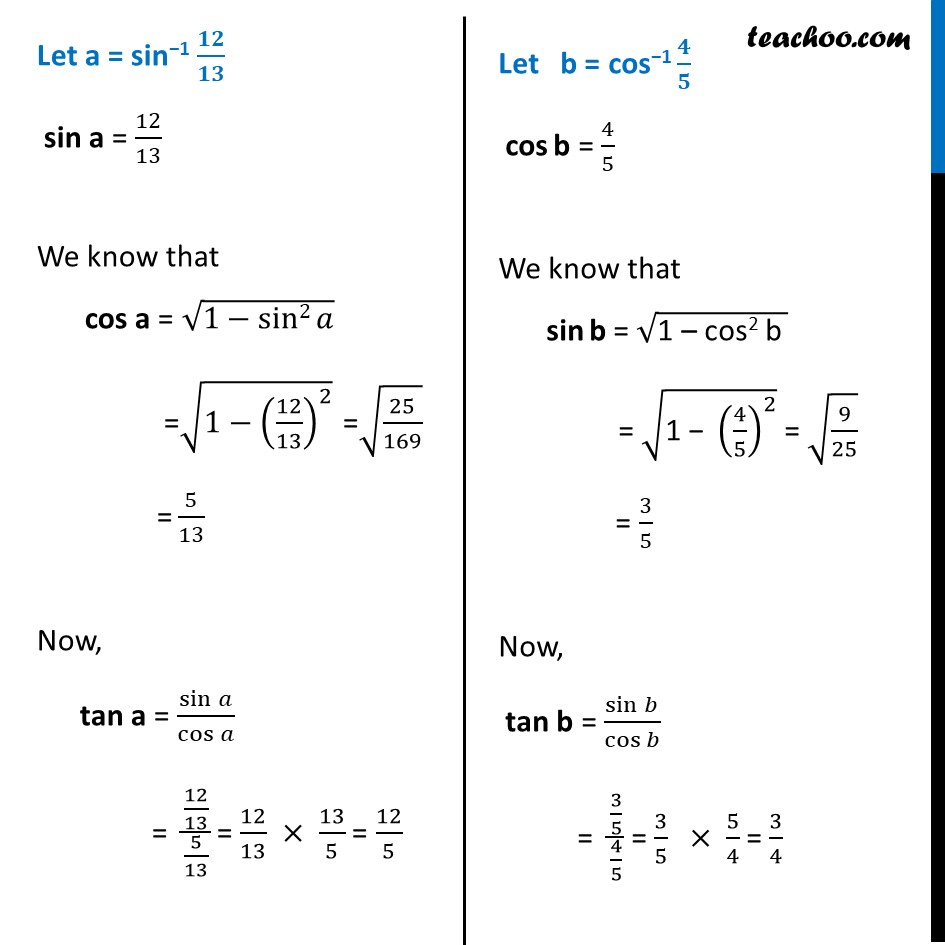 Example 11 - Chapter 2 Class 12 Inverse Trigonometric Functions - Part 2