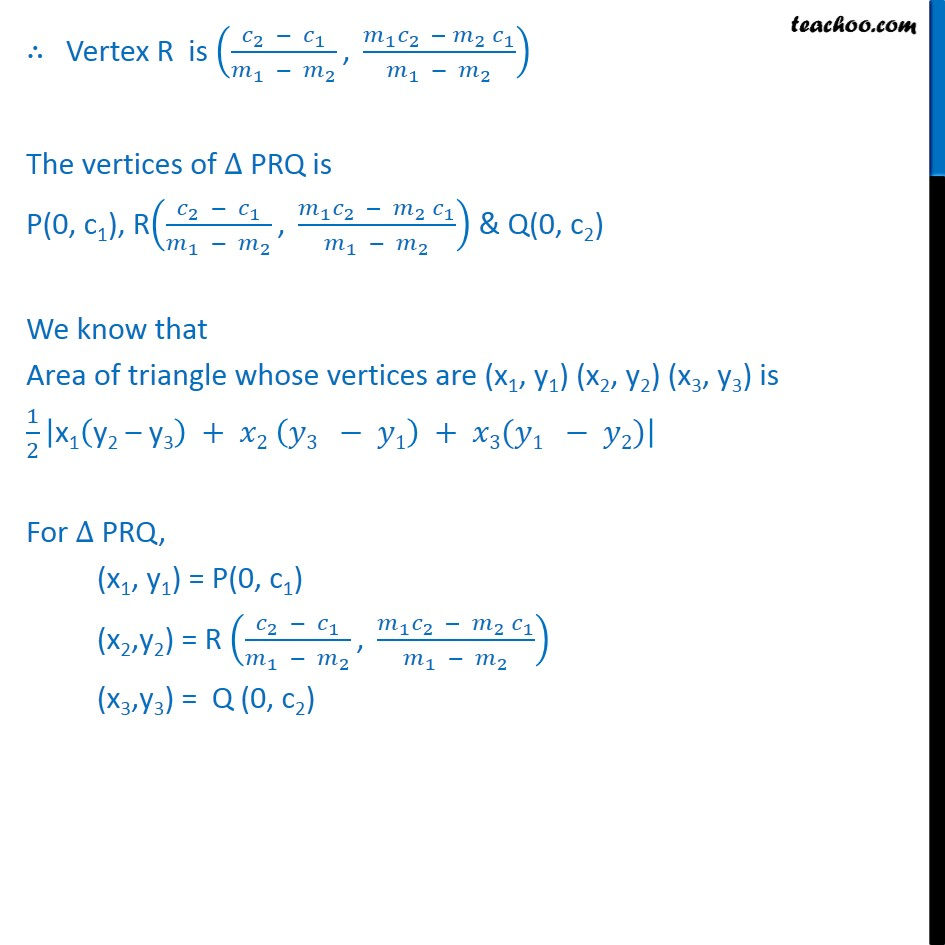 Example 23 - Chapter 10 Class 11 Straight Lines - Part 4