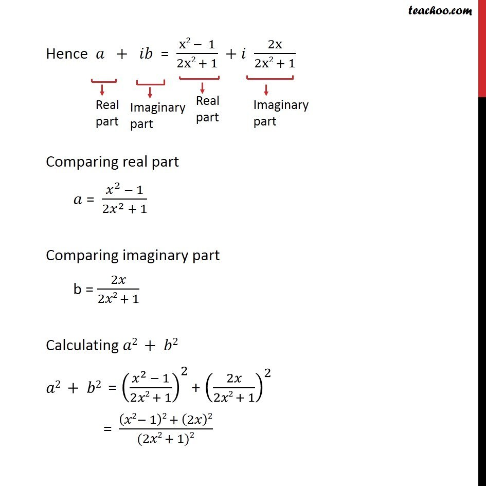 Misc 11  - Chapter 5 Class 11 Complex Numbers - Part 2