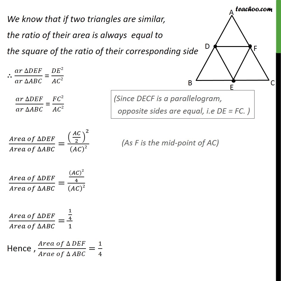 Ex 6.4, 5 - Chapter 6 Class 10 Triangles - Part 4