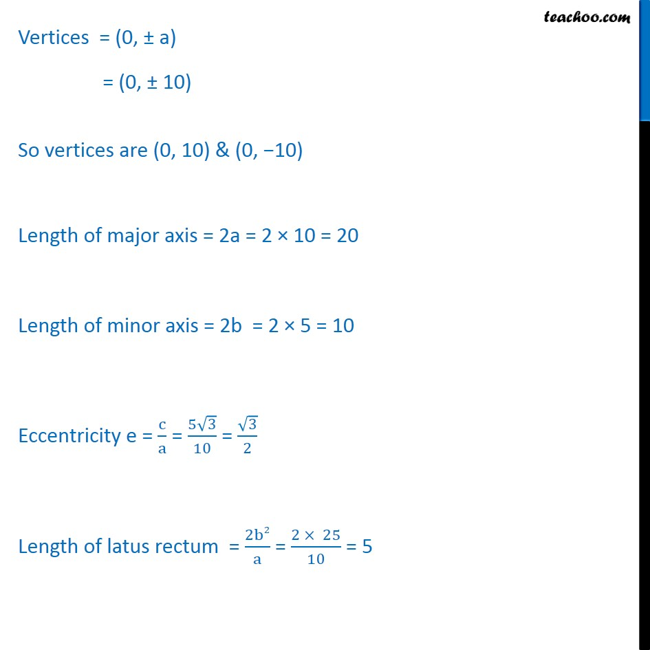 Ex 11.3,  4 - Chapter 11 Class 11 Conic Sections - Part 3