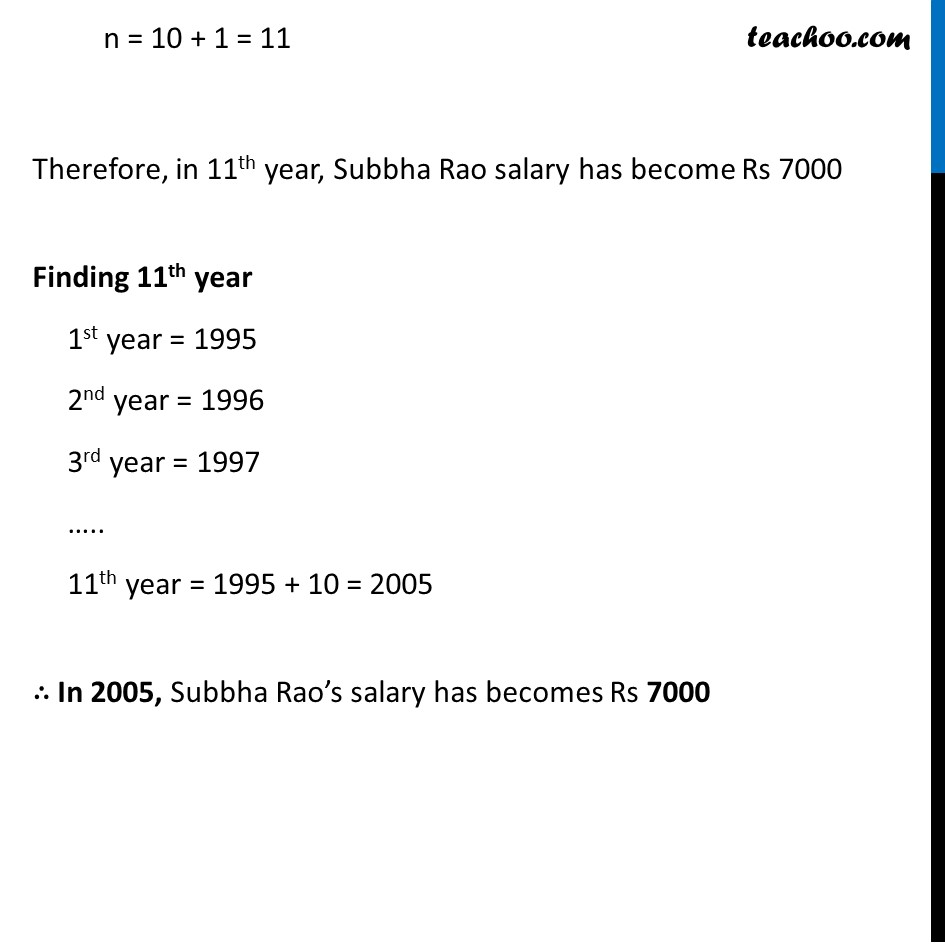 Ex 5.2, 19 - Chapter 5 Class 10 Arithmetic Progressions - Part 3