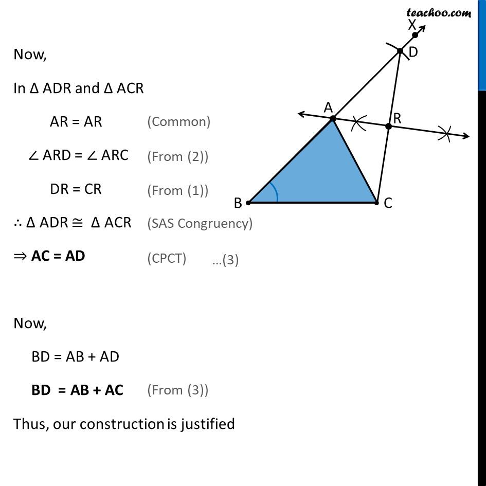 Construction 11.4 - Chapter 11 Class 9 Constructions - Part 5