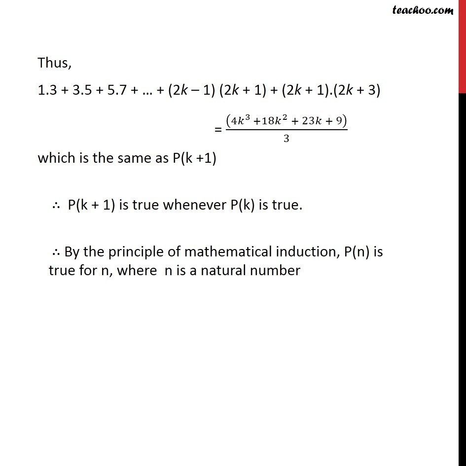 Ex 4.1, 7 - Chapter 4 Class 11 Mathematical Induction - Part 5