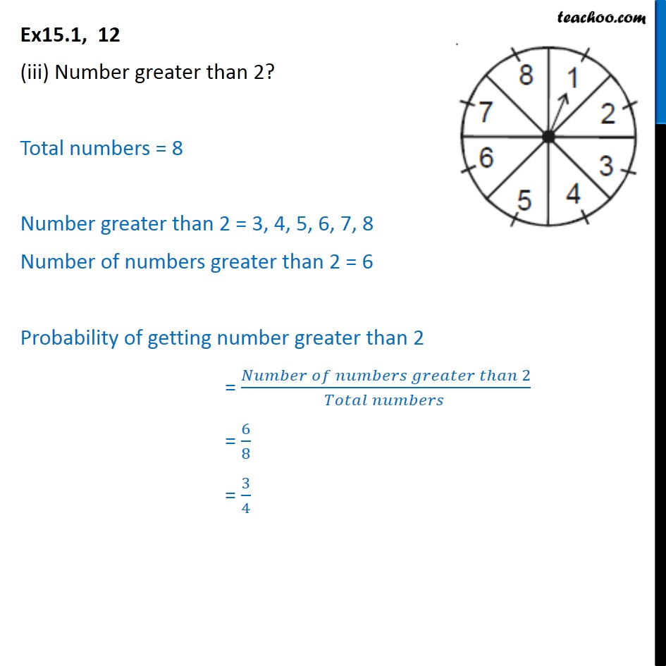 Ex 15.1, 12 - Chapter 15 Class 10 Probability - Part 3