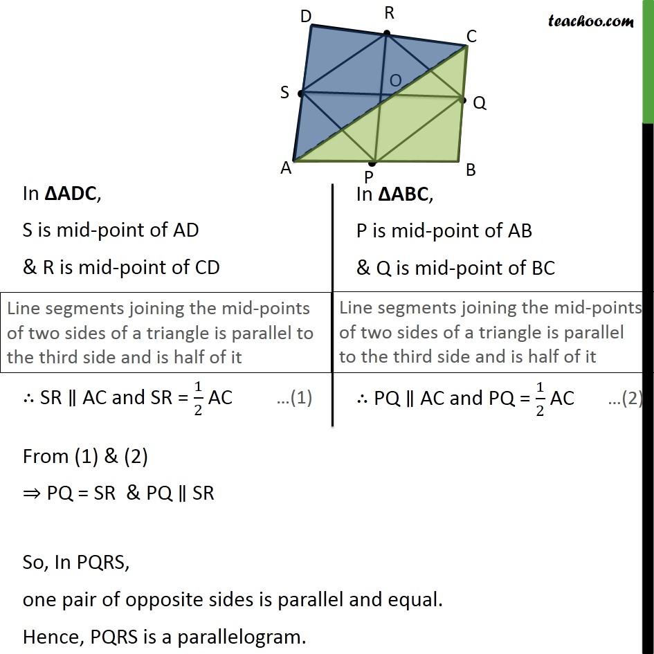 Ex 8.2, 6 - Chapter 8 Class 9 Quadrilaterals - Part 2