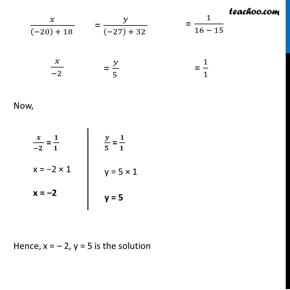 Ex 3.5, 3 - Chapter 3 Class 10 Pair of Linear Equations in Two Variables - Part 5