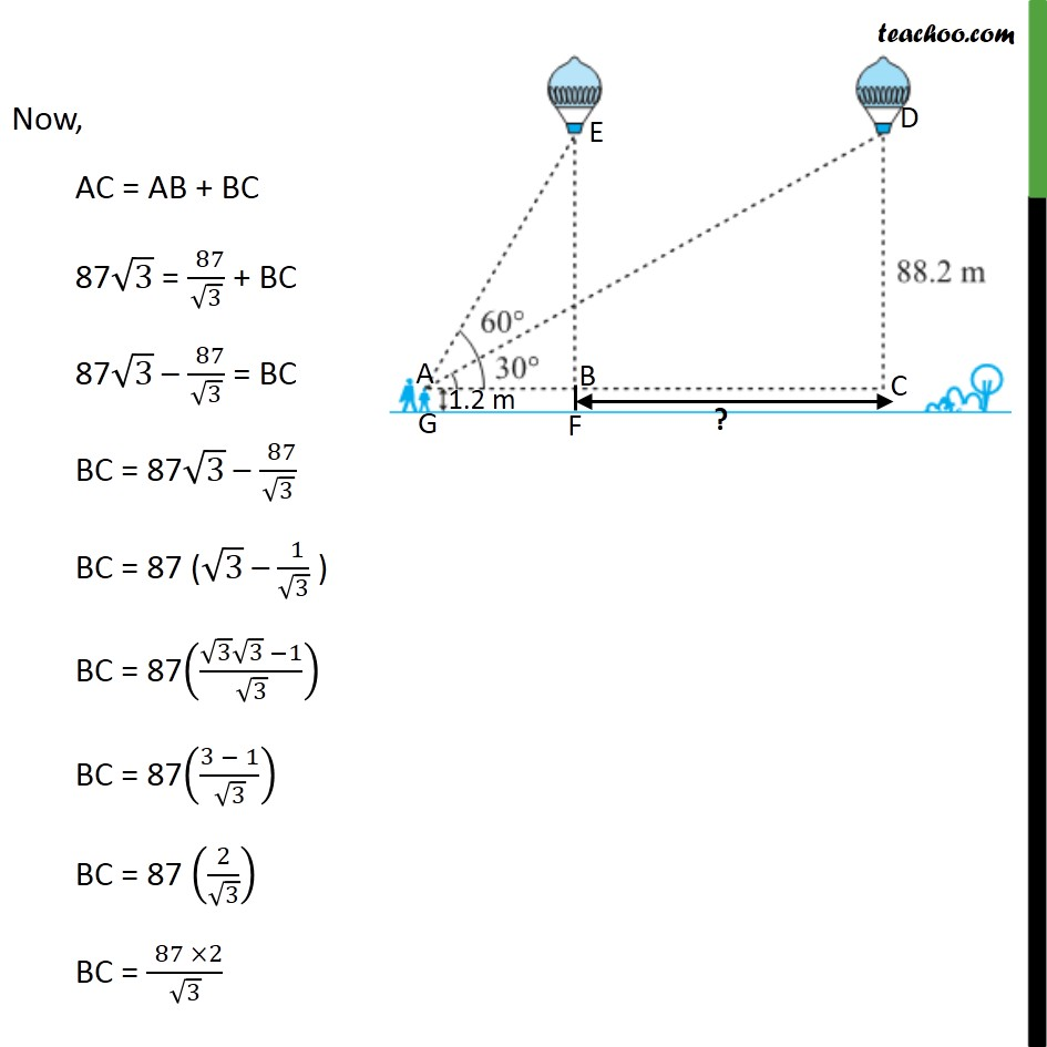 Ex 9.1, 14 - Chapter 9 Class 10 Some Applications of Trigonometry - Part 5