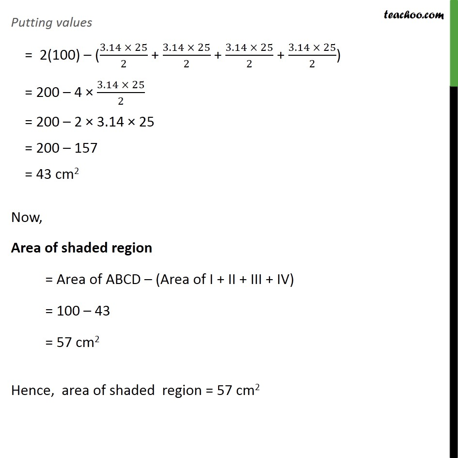 Example 6 - Chapter 12 Class 10 Areas related to Circles - Part 4