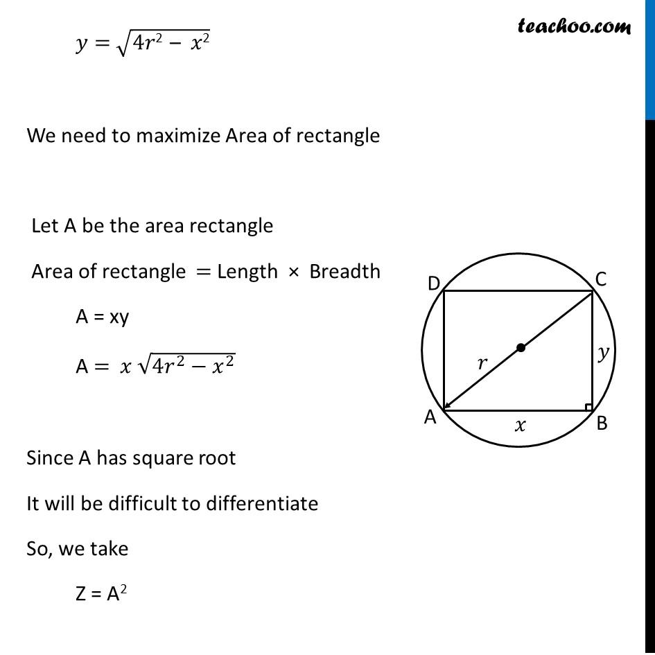 Ex 6.5,19 - Chapter 6 Class 12 Application of Derivatives - Part 2