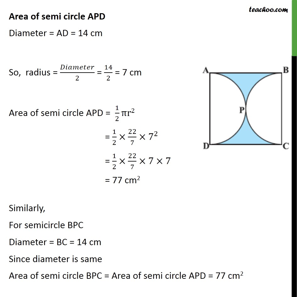 Ex 12.3, 3 - Chapter 12 Class 10 Areas related to Circles - Part 2