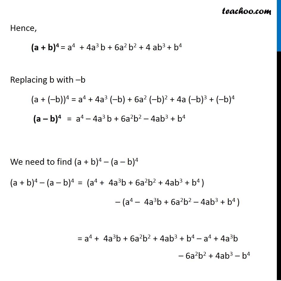 Ex 8.1,11 - Chapter 8 Class 11 Binomial Theorem - Part 2