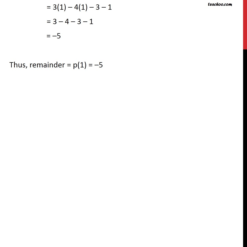 Example 7 - Chapter 2 Class 9 Polynomials - Part 3