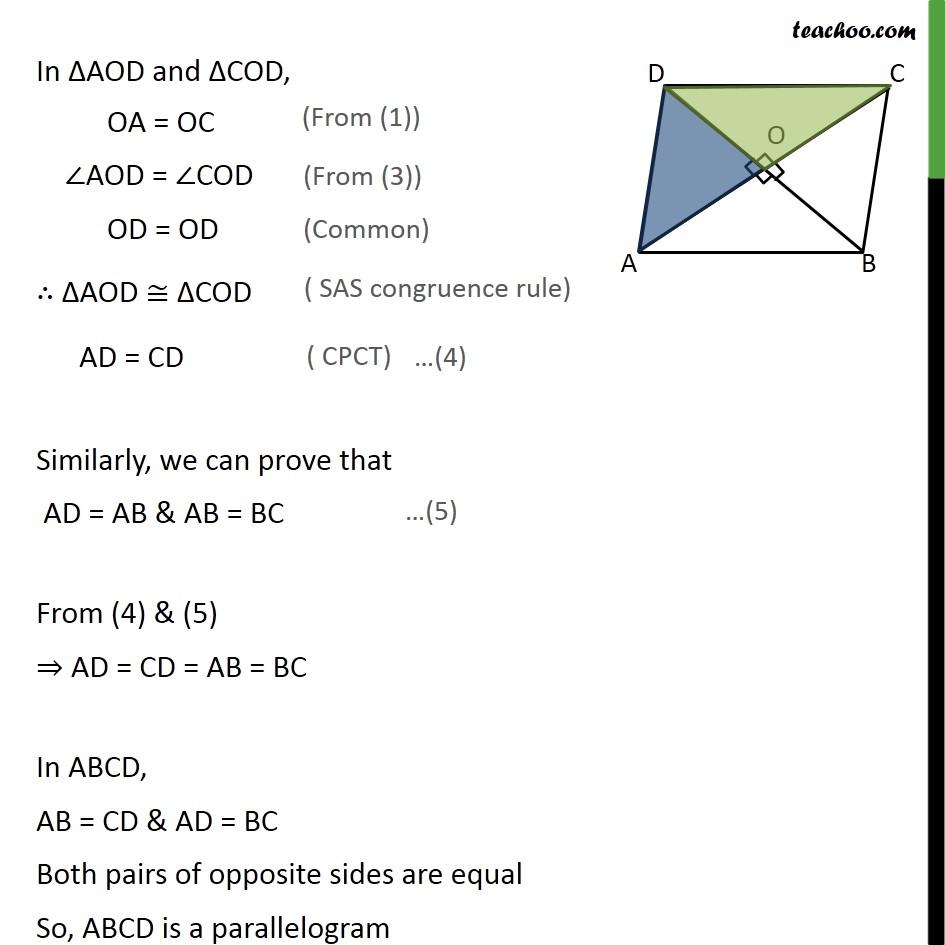 Ex 8.1, 3 - Chapter 8 Class 9 Quadrilaterals - Part 5