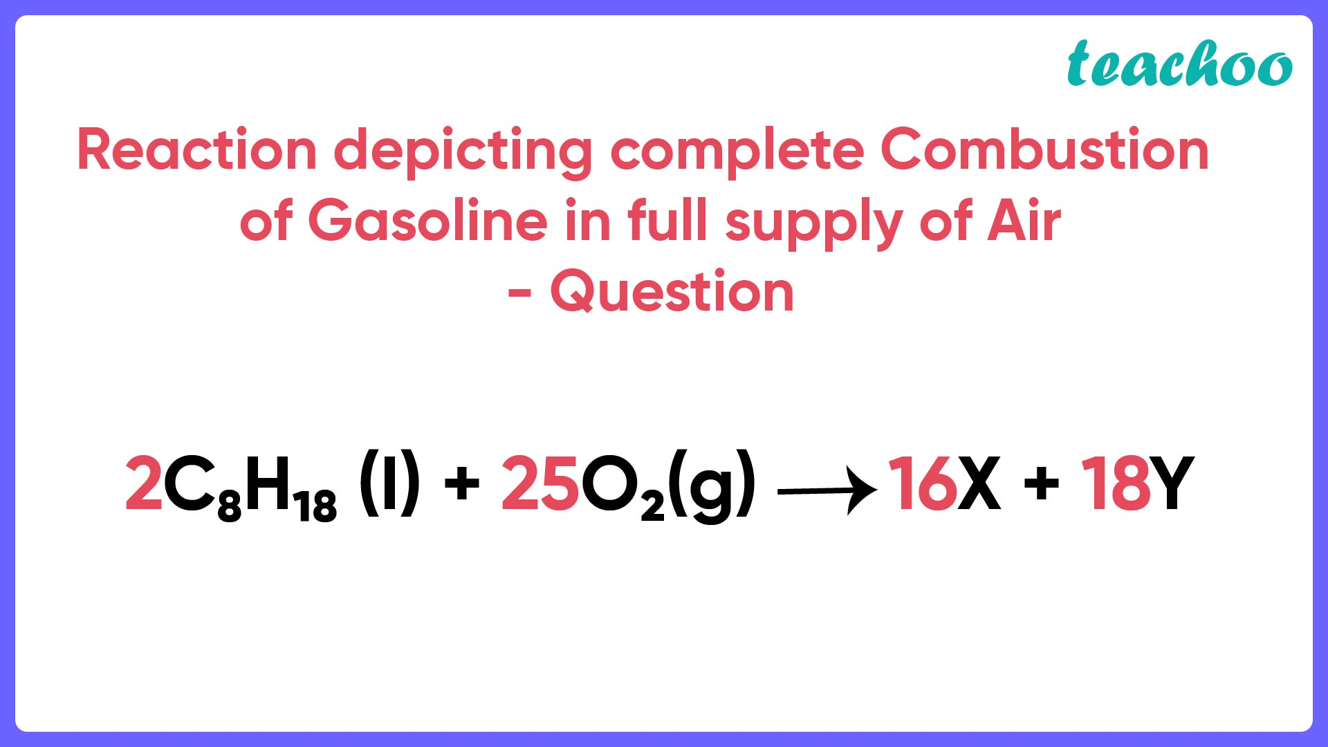 Reaction depicting complete Combustion Question - Teachoo-01.jpg