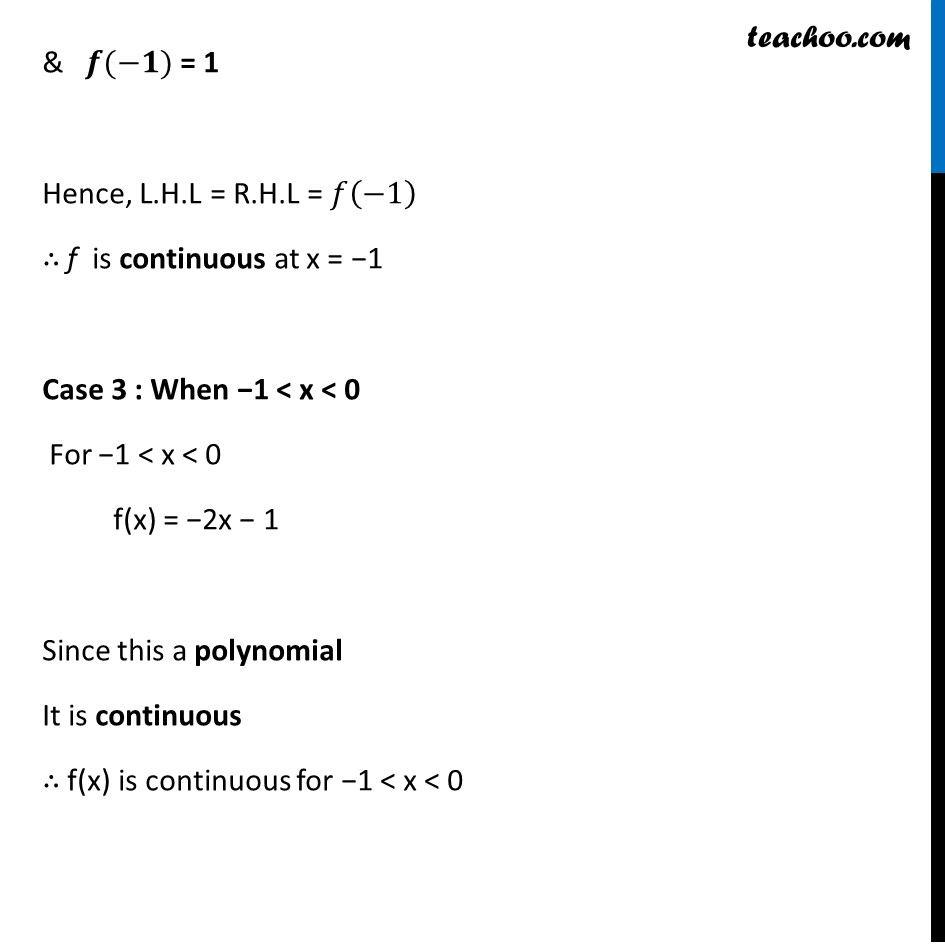 Ex 5.1, 34 - Chapter 5 Class 12 Continuity and Differentiability - Part 7