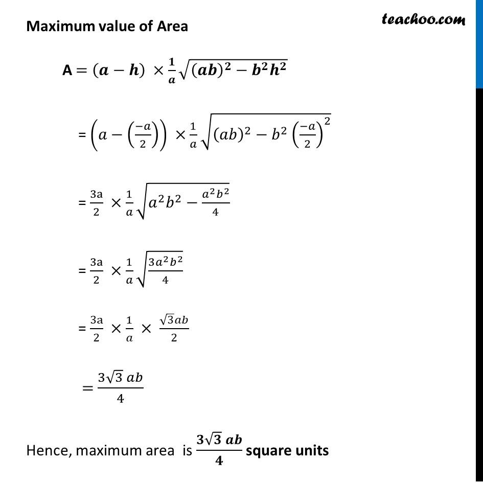 Misc 8 - Chapter 6 Class 12 Application of Derivatives - Part 12