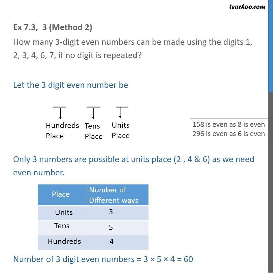 Ex 7.3,3 - Chapter 7 Class 11 Permutations and Combinations - Part 3