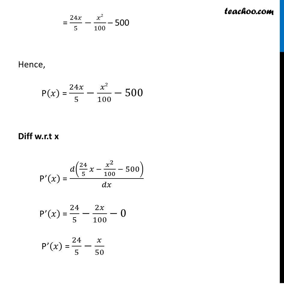 Example 51 - Chapter 6 Class 12 Application of Derivatives - Part 3