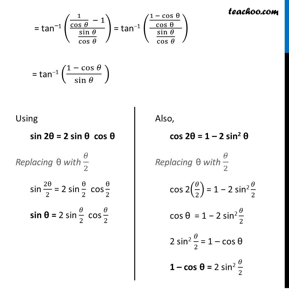 Ex 2.2, 5 - Chapter 2 Class 12 Inverse Trigonometric Functions - Part 2