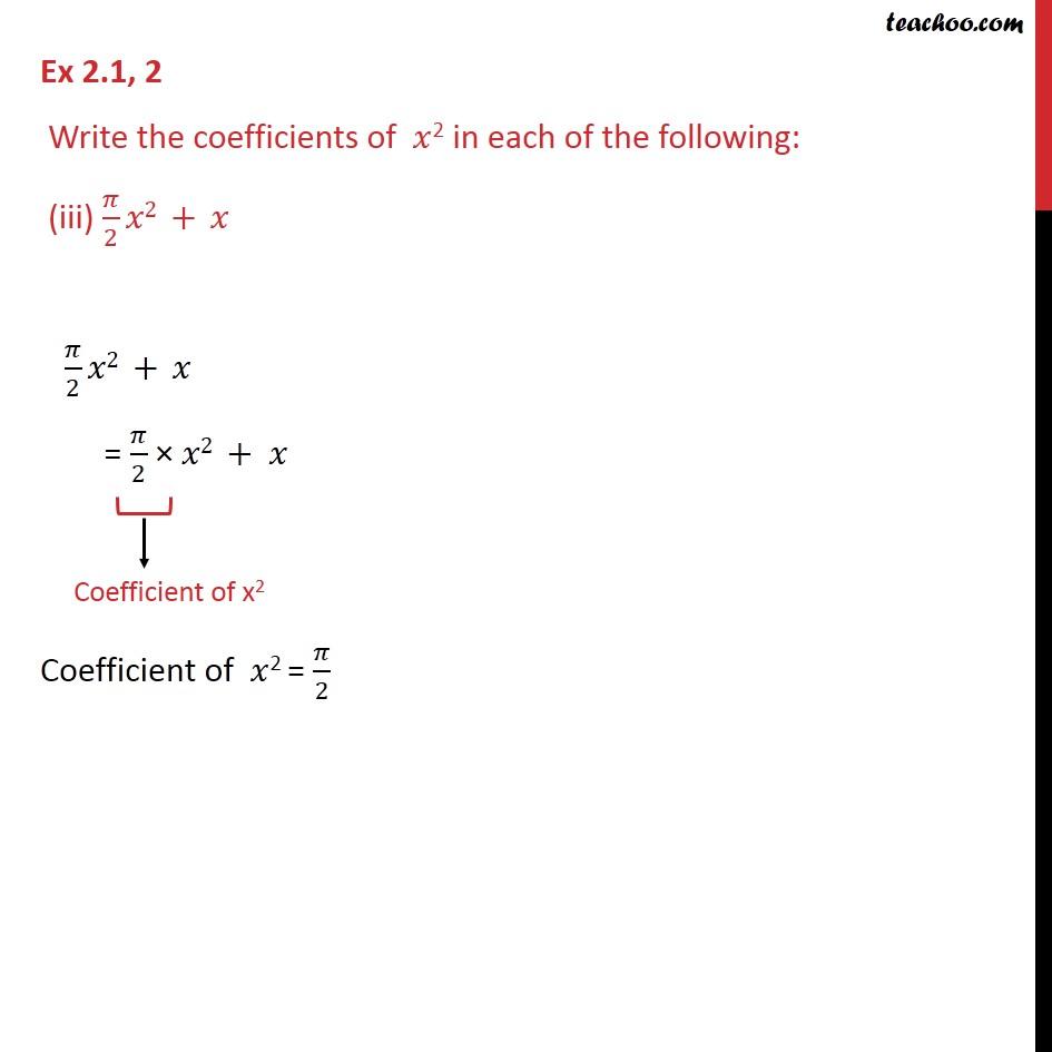 Ex 2.1, 2 - Chapter 2 Class 9 Polynomials - Part 3