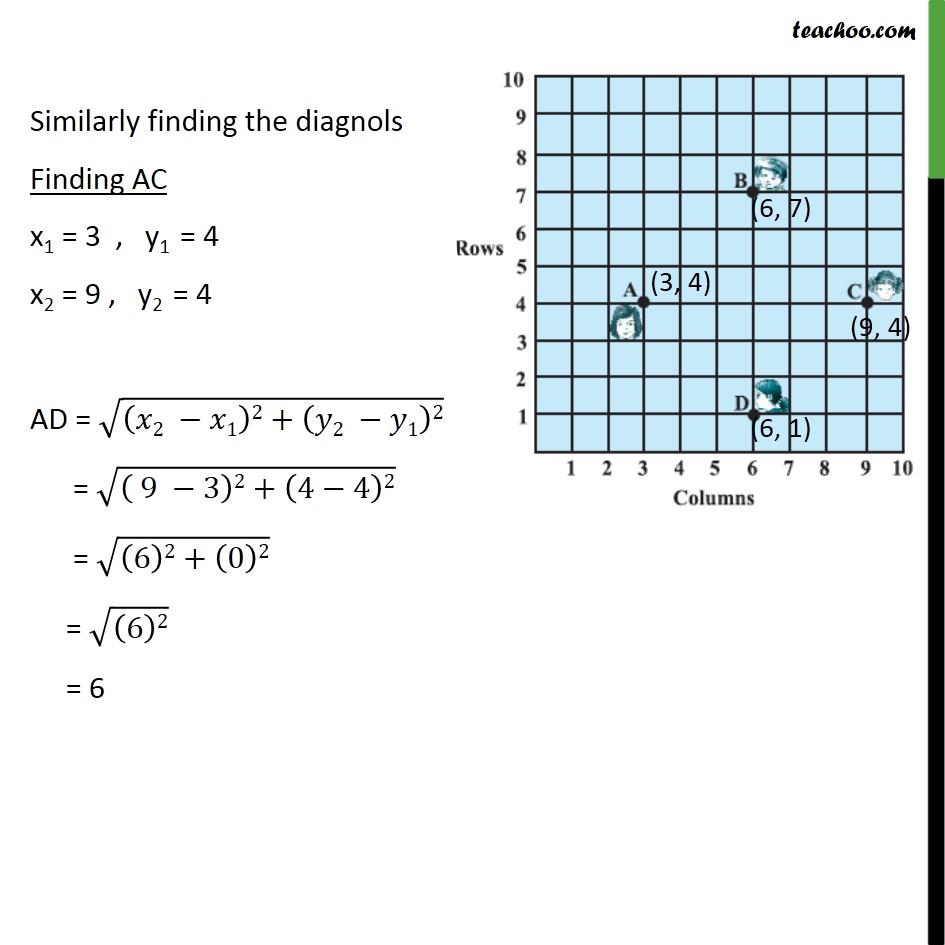 Ex 7.1, 5 - Chapter 7 Class 10 Coordinate Geometry - Part 6