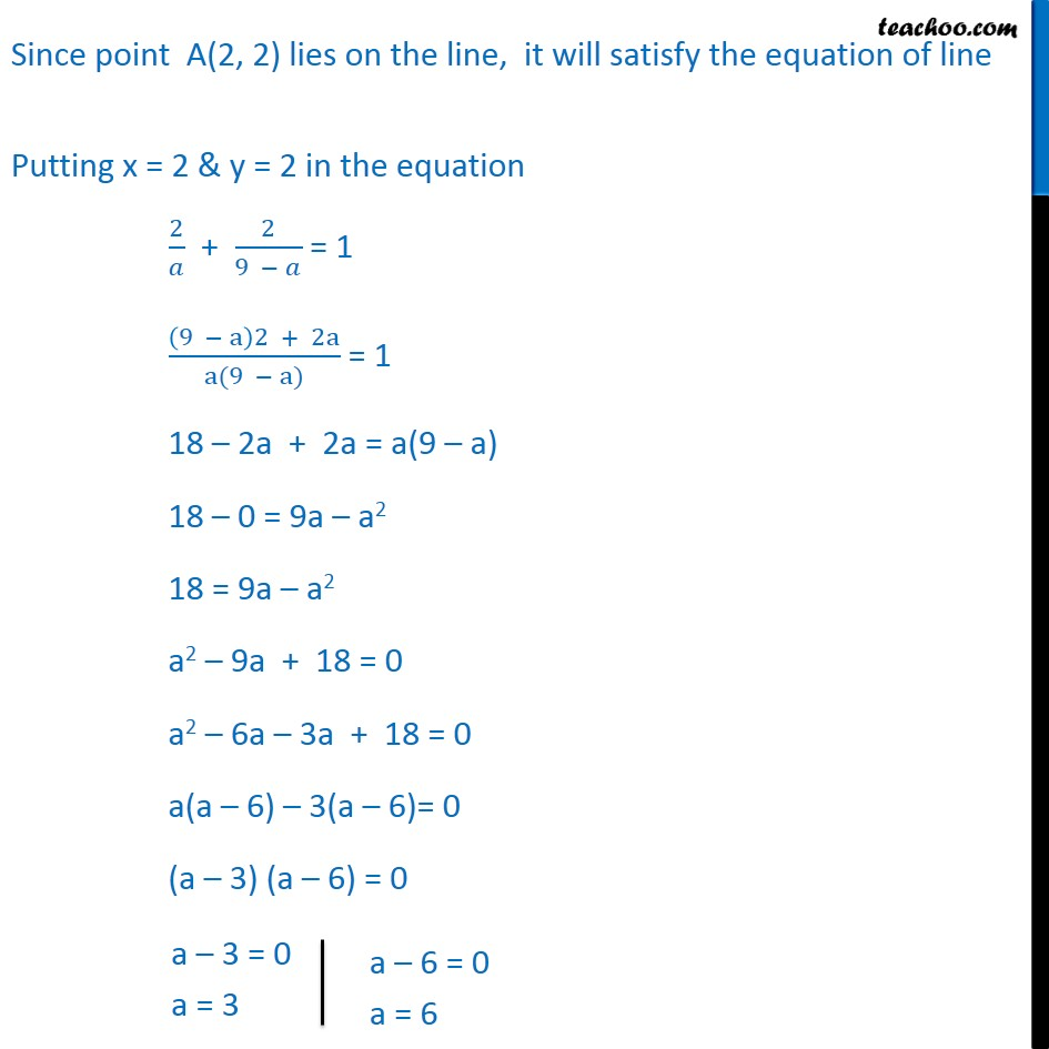 Ex 10.2, 13 - Chapter 10 Class 11 Straight Lines - Part 2