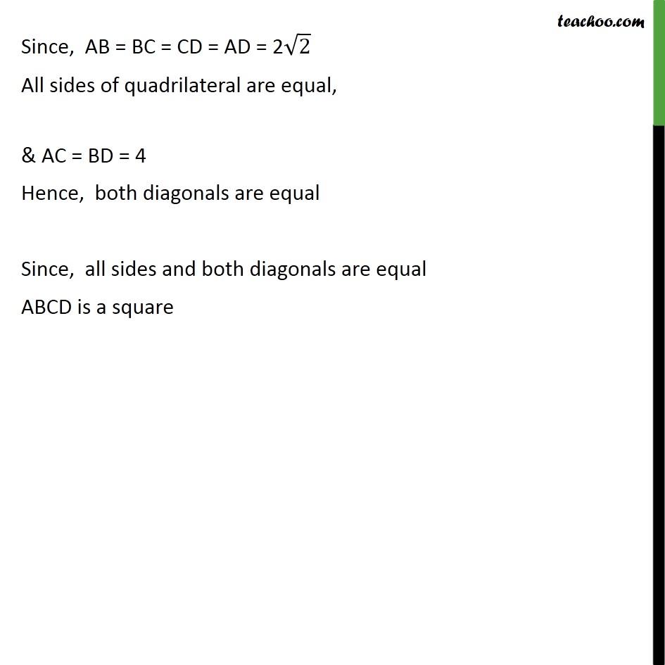 Ex 7.1, 6 - Chapter 7 Class 10 Coordinate Geometry - Part 8