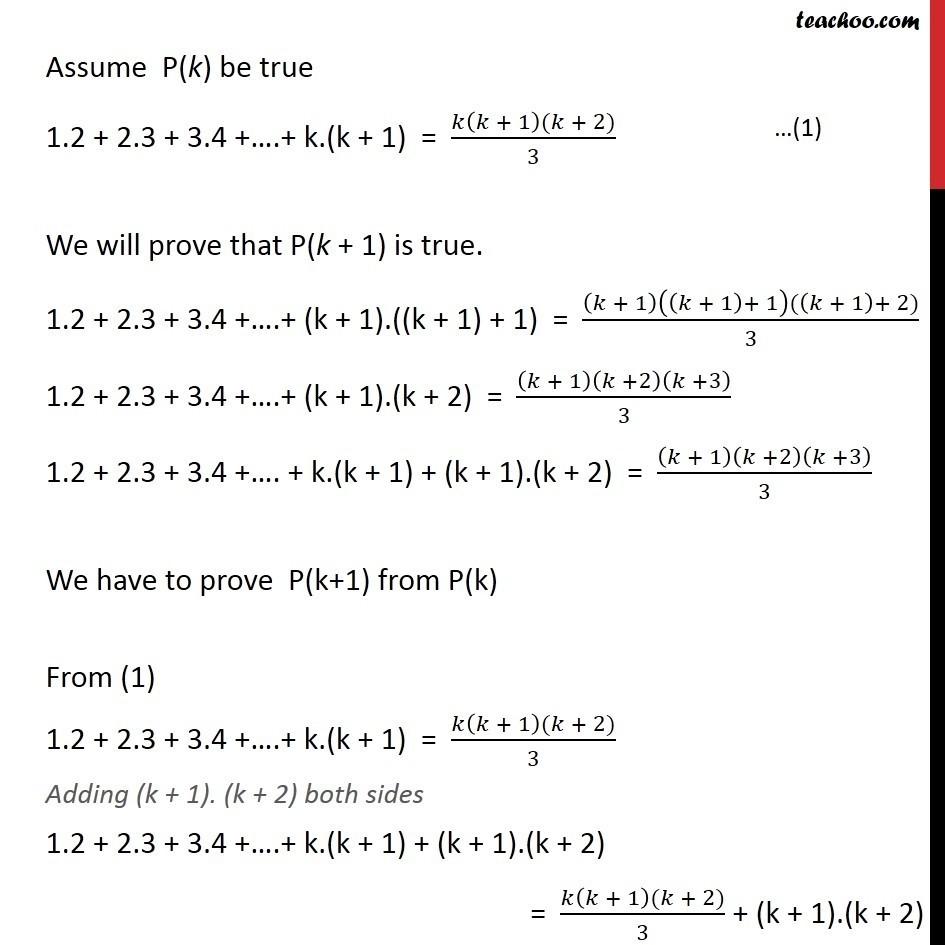 Ex 4.1, 6 - Chapter 4 Class 11 Mathematical Induction - Part 2