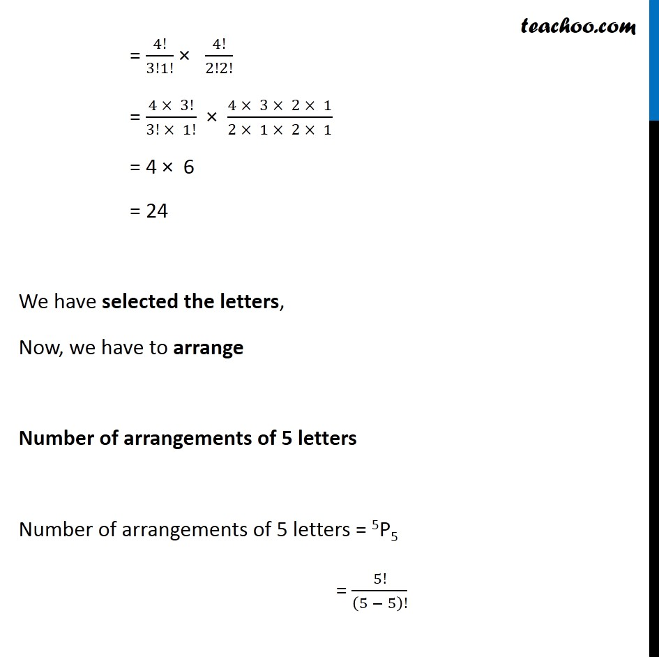 Example 20 - Chapter 7 Class 11 Permutations and Combinations - Part 2