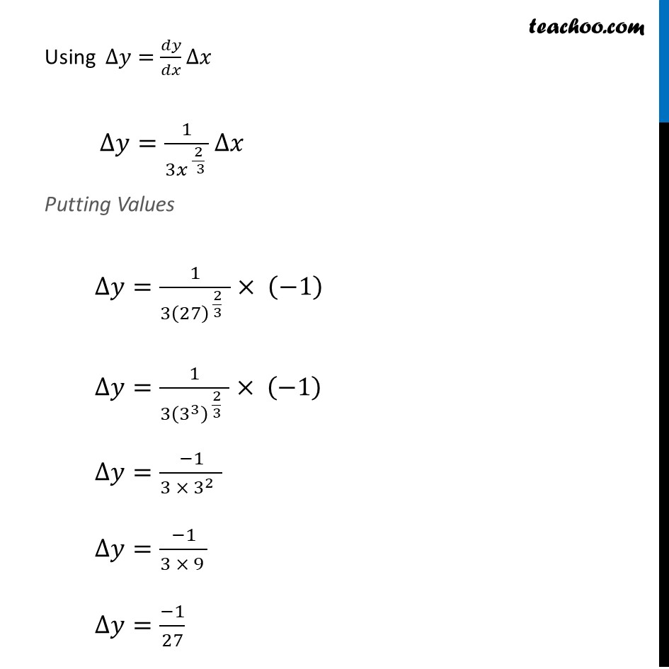 Ex 6.4, 1 (vii) - Chapter 6 Class 12 Application of Derivatives - Part 2