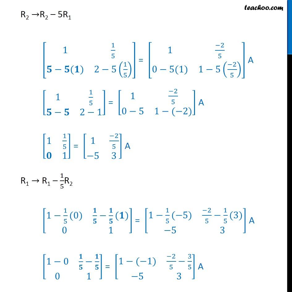 Ex 3.4, 7 - Chapter 3 Class 12 Matrices - Part 2