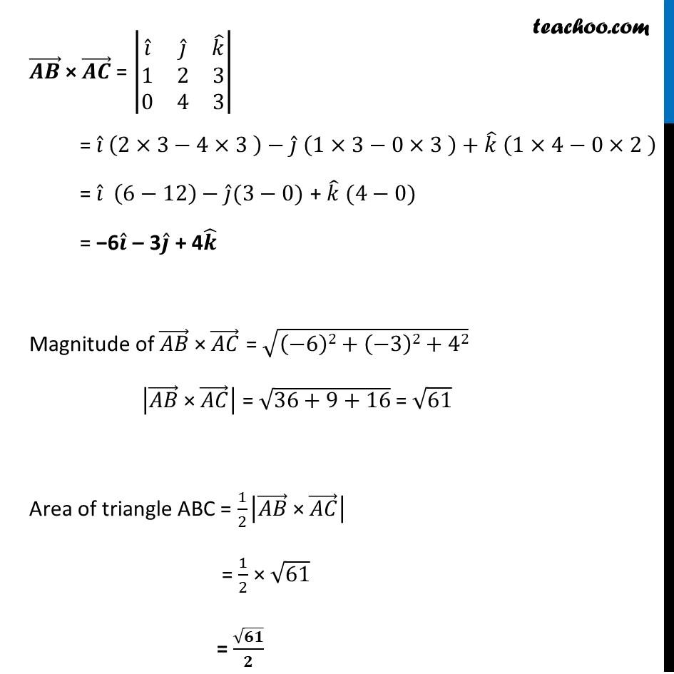 Ex 10.4, 9 - Chapter 10 Class 12 Vector Algebra - Part 2