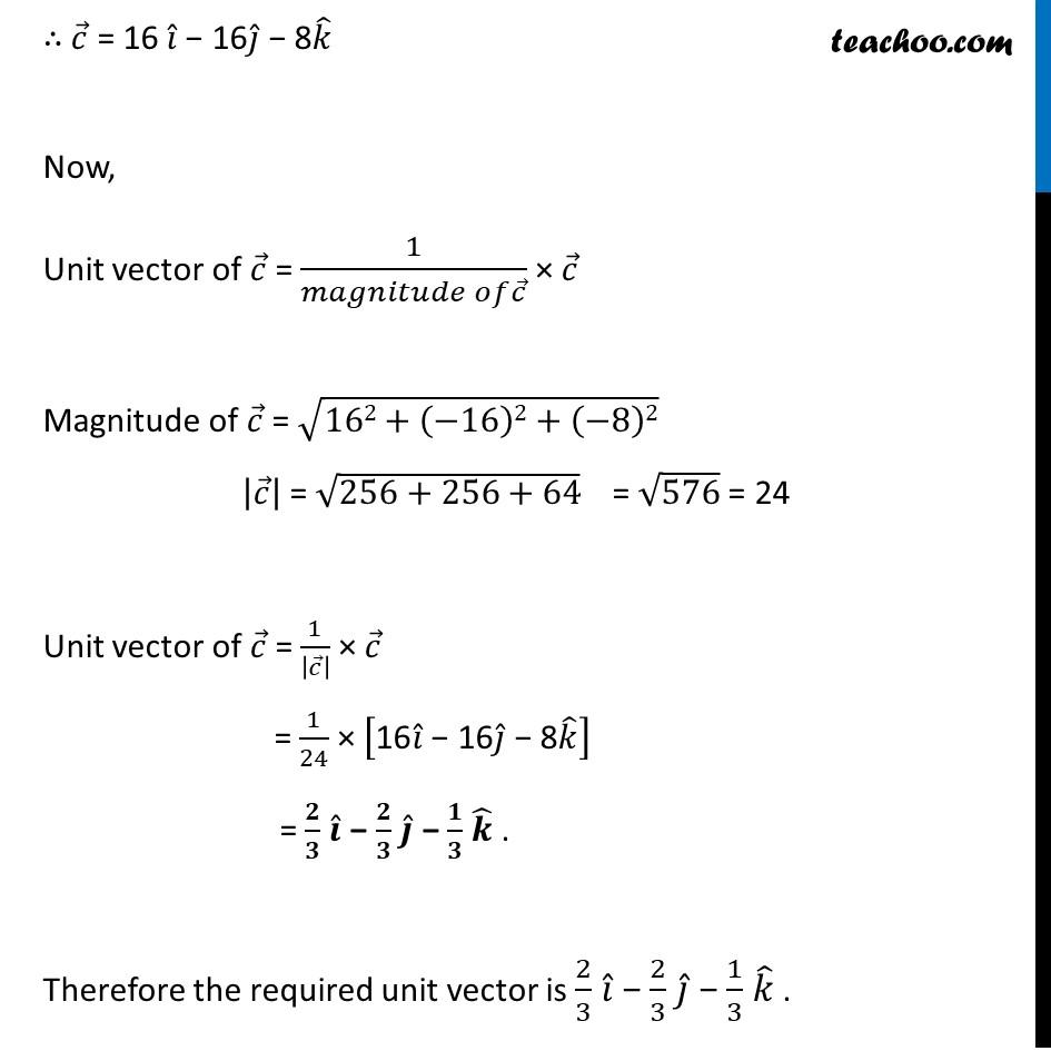 Ex 10.4, 2 - Chapter 10 Class 12 Vector Algebra - Part 3