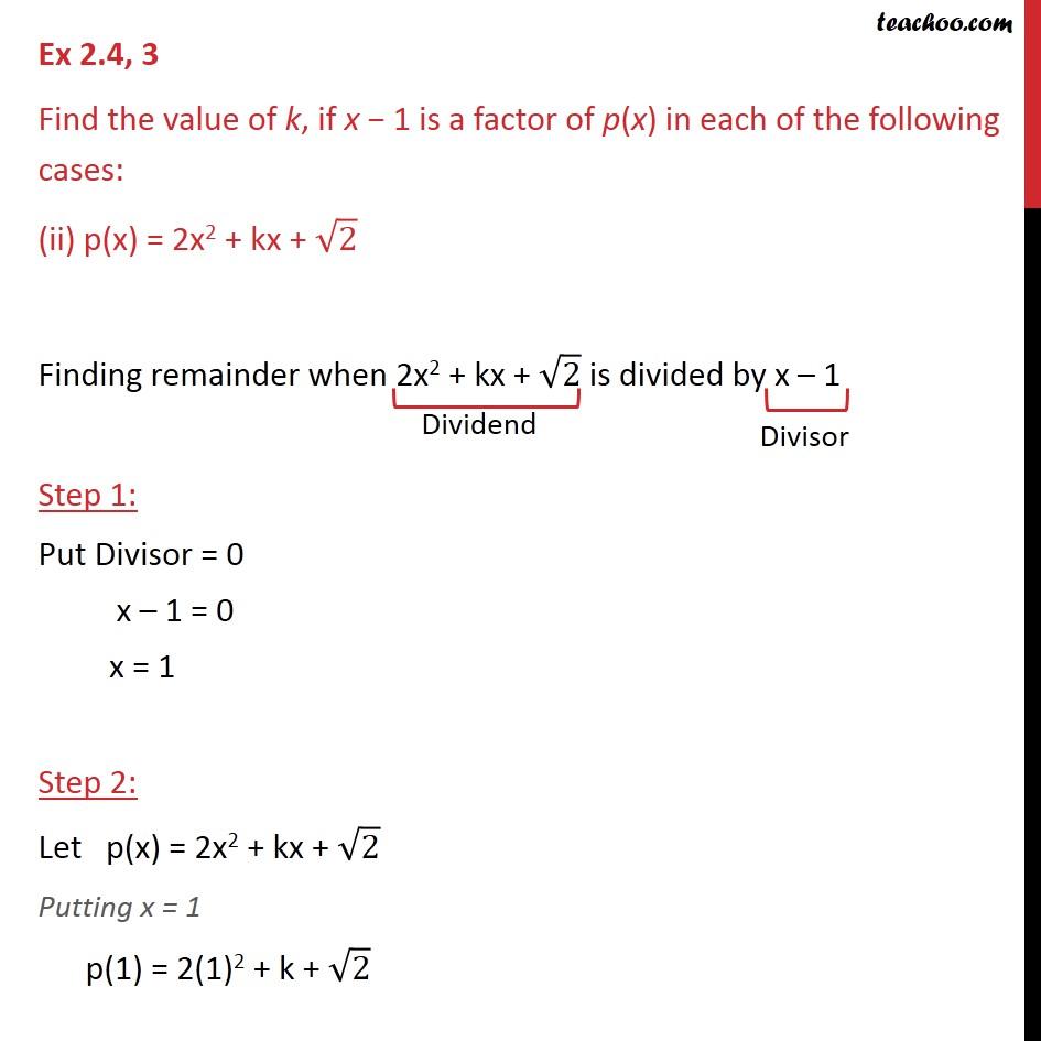 Ex 2.4,3 - Chapter 2 Class 9 Polynomials - Part 3