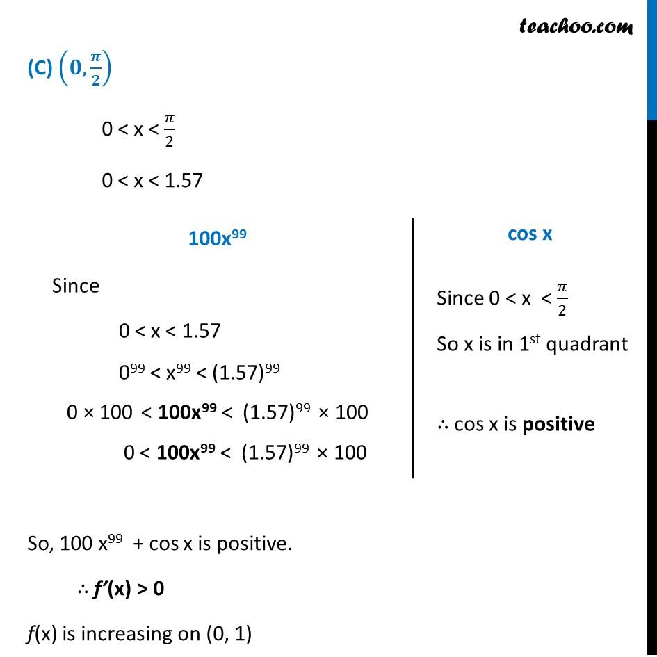 Ex 6.2,13 - Chapter 6 Class 12 Application of Derivatives - Part 4