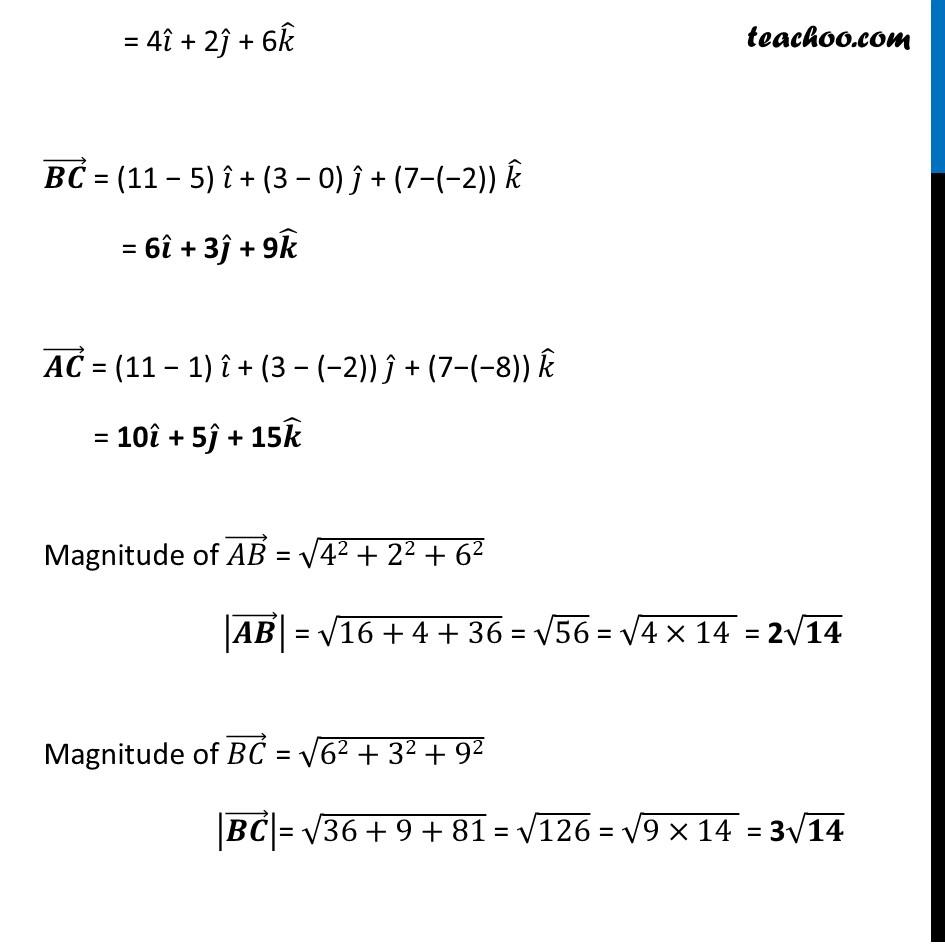 Misc 8 - Chapter 10 Class 12 Vector Algebra - Part 3