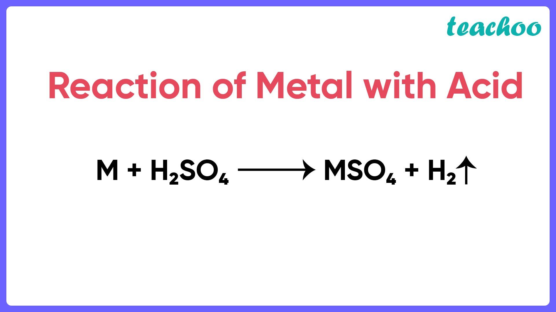 Reaction of Metal with Acid - Teachoo.jpg
